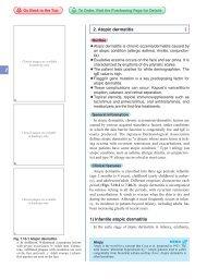 1) Infantile atopic dermatitis 2. Atopic dermatitis