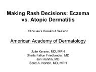 Making Rash Decisions: Eczema vs. Atopic Dermatitis