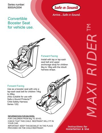 britax advocate 65 cs manual