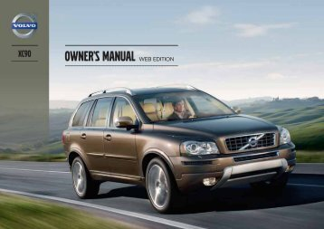 Owner's Manual L:7 :9>I>DC - ESD - Volvo