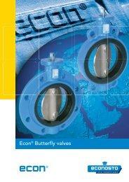 Econ® Butterfly valves - Eriks UK