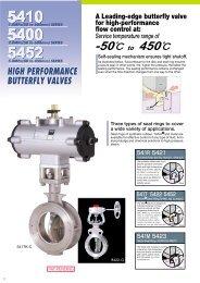 K-LOK® High Performance Butterfly Valve Sizes 2 thru 12