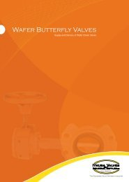 Wafer Butterfly Valves s and pplies - Ithuba Valves