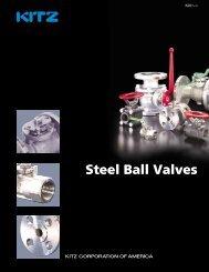 KITZ Steel Ball Valves - Nooneycontrols.com