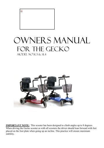 Shoprider Magazines