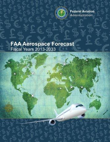 FAA Aerospace Forecast, Fiscal Years 2013-2033