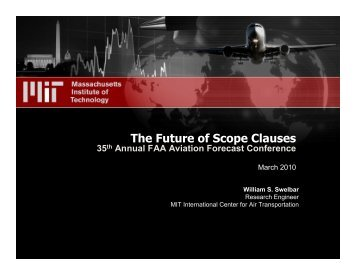 The Future of Scope Clauses - FAA