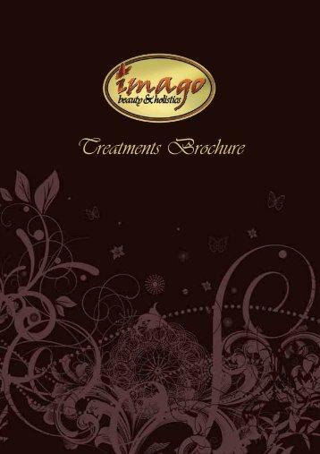 Treatments Brochure - Imago Beauty and Holistics