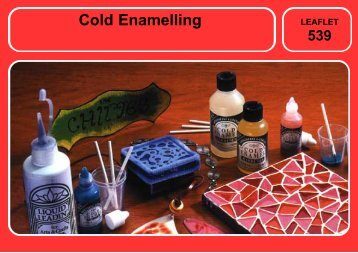 A534 Cold Enamelling - Homecrafts Direct
