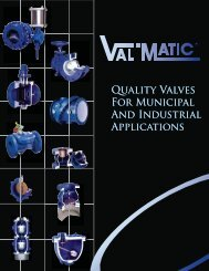 Brochure - Val-Matic Valve and Manufacturing Corp.