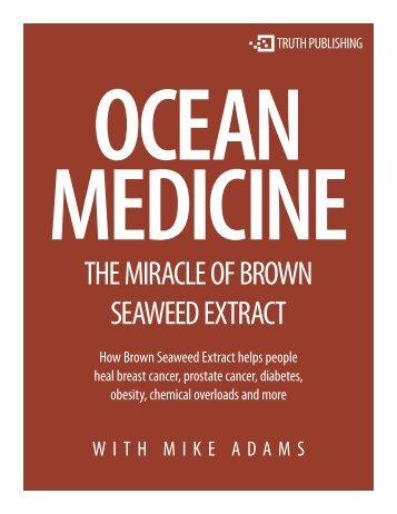 THE MIRACLE OF BROWN SEAWEED EXTRACT