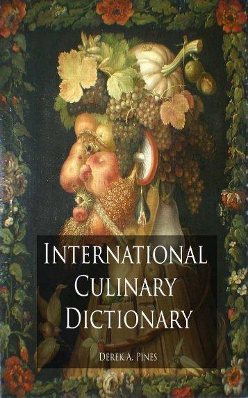 Culinary Dictionary - Najlepsza oferta