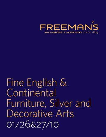 PDF-Catalogue - Freeman's Auctioneers