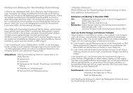 Flyer (PDF, 121Kb) - Stiftung Bildung und Entwicklung