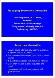 Managing Seborrheic Dermatitis Seborrheic dermatitis - EADV