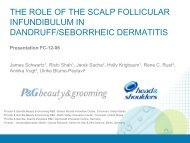 The Role of the Scalp Follicular Infundibulum in - P&G Beauty ...