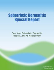 What Really Causes Seborrheic Dermatitis? - Trust Nature