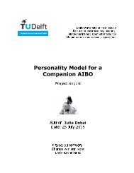 Personality Model for a C om p anion AI B O - Knowledge Based ...