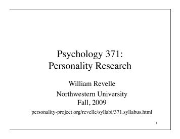 psychology essay personality Academiaedu is a platform for academics to share research papers.