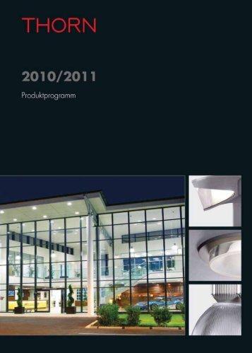 Thorn Licht Hauptkatalog 2010/2011