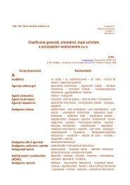 Clasificarea generală, orientativă, după activitate a principalelor ...