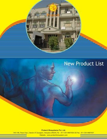 Protech New List - Protech Biosystems