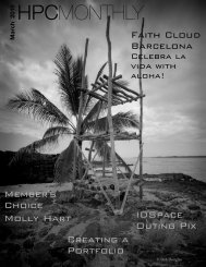 10 HPCMONTHLY - Hilo Photography Club