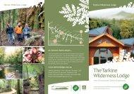 Download Lodge Brochure PDF (3mb) - Tarkine Wilderness Lodge