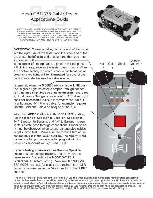 cbt375 manual faxable  hosa technology