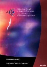 The principal duties and powers of liquidators, receivers - CPA