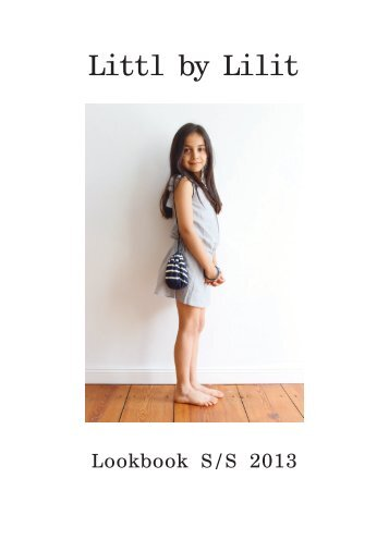 Download this season's catalogue - Littl by Lilit