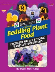 Bedding Plant Food Bedding Plant Food - Fertilome