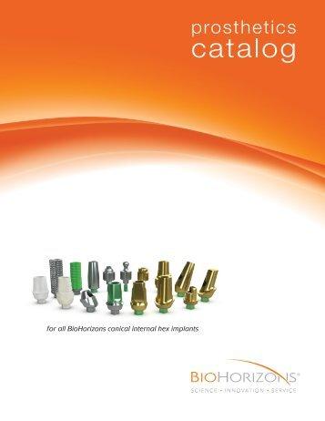 Internal Prosthetic Catalog - BioHorizons