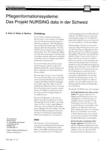 Pflegeinformationssysteme - Hplus