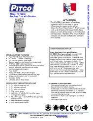 Model KF-SG6H M o d e l K F -S G 6 H - AFRPM.com.mx