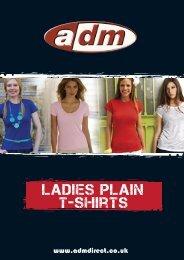 ladies plain t-shirts