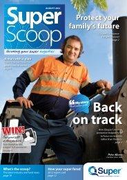 Back on track - QSuper - Queensland Government