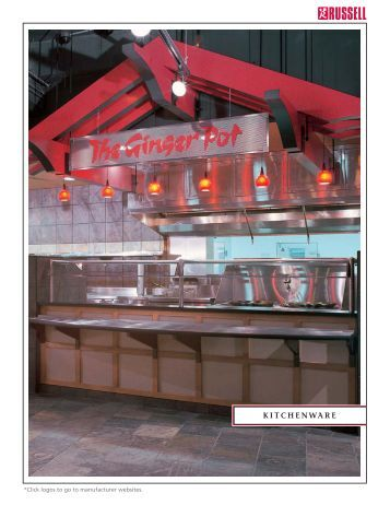 Russell Food Equipment Ltd. - Catalogue - Kitchenware