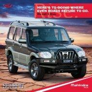 Download Scorpio SUV Brochure - Mahindra