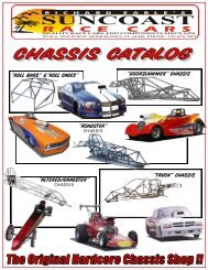 Modified Chassis - Howe Racing Enterprises