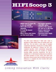 HIFI Scoop 3 Lit. (Page 1) - ATA Audio Corporation