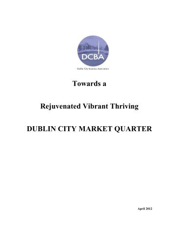 DUBLIN CITY MARKET Final Document - Dublin City Business ...