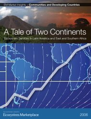 A Tale of Two Continents - Ecosystem Marketplace