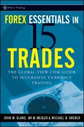 Preface Forex Essentials in 15 Trades - trading the market