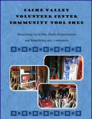 VC Community Tool Shed Brochure