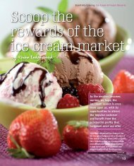 Scoop the rewards of the ice cream market - Emmeline Ledgerwood