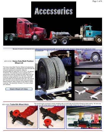 Heavy Duty Multi Position Wheel Lift - Zacklift