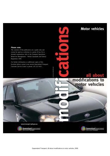 all about modifications to motor vehicles - Window Tinting