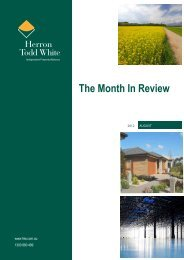 The Month In Review - Herron Todd White