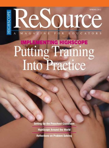 Spring, 2012 - High/Scope Educational Research Foundation